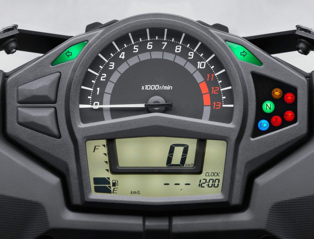 Đồng hồ Kawasaki Ninja 650R