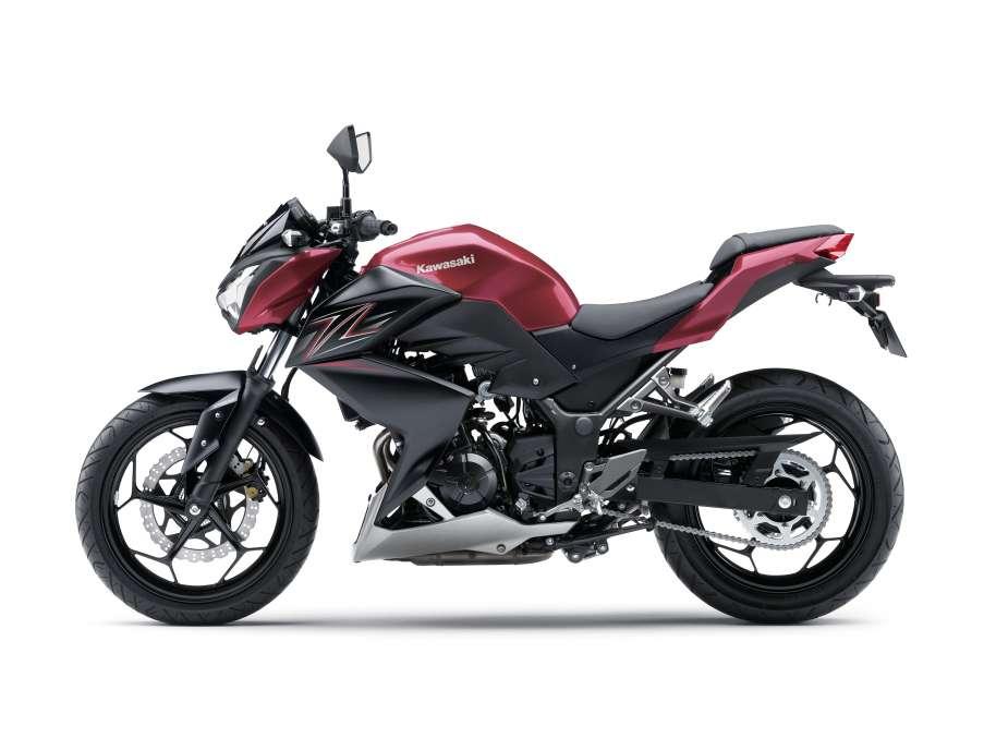 Kawasaki Z300 Đỏ